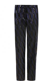 Укороченные брюки прямого кроя с принтом Dries Van Noten