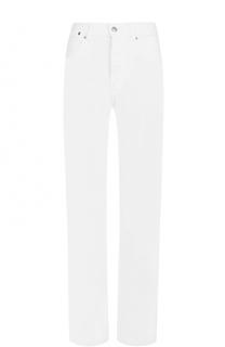 Однотонные джинсы прямого кроя Dries Van Noten