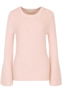 Пуловер с круглым вырезом и металлизированной нитью MICHAEL Michael Kors