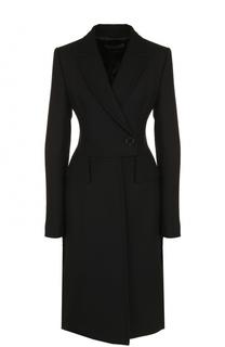 Приталенное кашемировое пальто Tom Ford