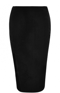 Бархатная юбка-карандаш Tom Ford