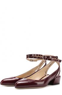 Кожаные туфли Daniela 30 с ремешками на щиколотке Jimmy Choo