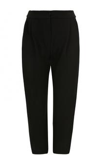 Укороченные брюки с защипами и карманами Giorgio Armani