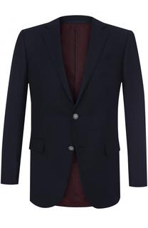 Шерстяной однобортный пиджак Ermenegildo Zegna