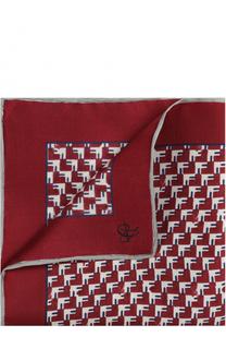Шелковый платок с принтом Canali