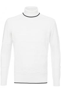 Шерстяной свитер фактурной вязки Cortigiani
