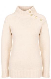 Шерстяной свитер с высоким воротником Lanvin