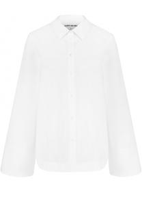 Хлопковая блуза свободного кроя Elizabeth and James