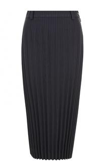 Плиссированная юбка-карандаш DKNY