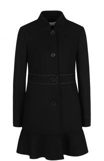Пальто с завышенной талией и воротником-стойкой REDVALENTINO