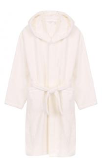 Хлопковый халат с капюшоном La Perla