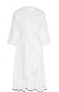 Хлопковое платье с поясом Tome