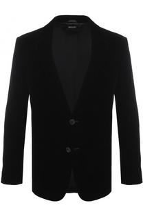 Однобортный приталенный пиджак Giorgio Armani