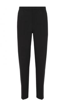 Шерстяные укороченные брюки прямого кроя Alexander McQueen
