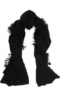 Шерстяной шарф с бахромой Rick Owens