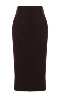 Кашемировая юбка-карандаш Kiton
