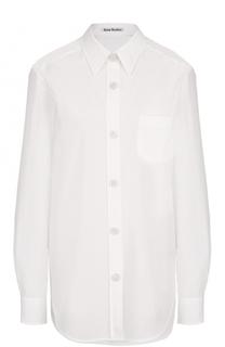 Блуза прямого кроя с накладным карманом Acne Studios