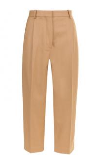 Укороченные брюки с защипами и стрелками Acne Studios