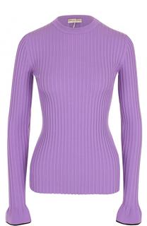 Пуловер фактурной вязки с круглым вырезом Emilio Pucci
