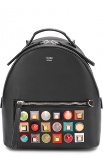 Рюкзак с заклепками Rainbow Fendi