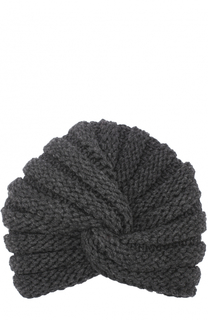 Вязаная шапка-тюрбан из кашемира Inverni
