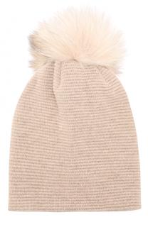 Вязаная шапка из шерсти и кашемира Inverni