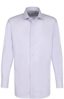 Хлопковая сорочка с воротником кент Brioni