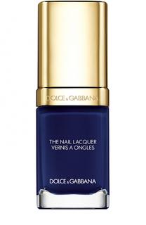 Лак для ногтей, оттенок 728 Electric Blue Dolce & Gabbana