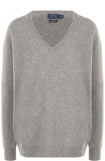 Кашемировый пуловер с V-образным вырезом Polo Ralph Lauren