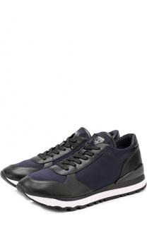Комбинированные кроссовки Jamie на шнуровке DKNY