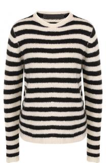Кашемировый пуловер в полоску The Elder Statesman