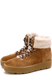 Замшевые ботинки с подкладкой из овчины Vic Matie