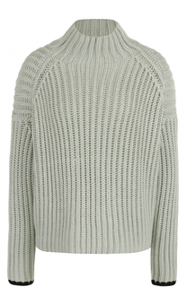 Шерстяной свитер фактурной вязки Victoria by Victoria Beckham