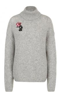 Вязаный свитер прямого кроя Markus Lupfer