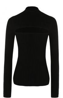 Облегающий пуловер с разрезом MRZ
