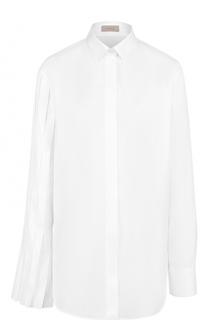 Хлопковая блуза прямого кроя MRZ