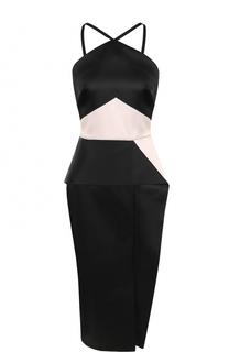 Платье-футляр без рукавов Roland Mouret