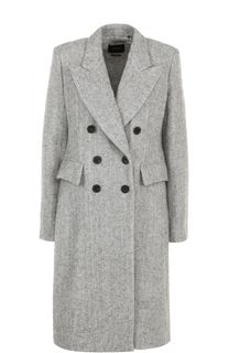 Приталенное двубортное пальто Isabel Marant