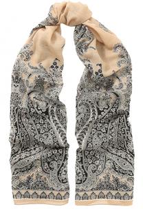 Шерстяной платок с узором Michele Binda