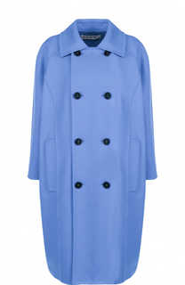 Двубортное пальто прямого кроя Marni