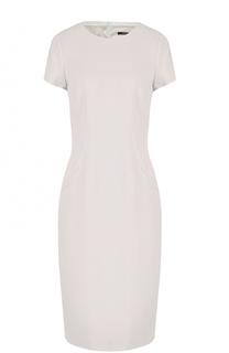 Приталенное платье-миди с круглым вырезом Windsor