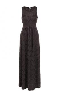 Вязаное платье-макси без рукавов M Missoni