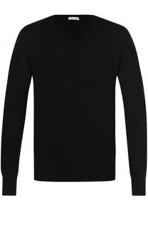 Кашемировый пуловер тонкой вязки Tomas Maier