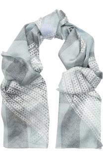 Шелковый шарф с принтом Burberry