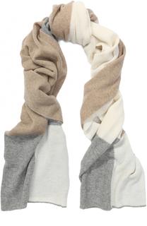 Вязаный шарф из шерсти мериноса и кашемира Inverni