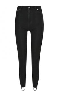 Однотонные джинсы со штрипками MSGM