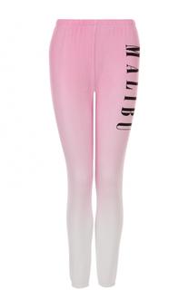 Укороченные брюки с эффектом деграде Wildfox