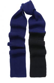 Вязаный шарф из смеси шерсти и кашемира Marni