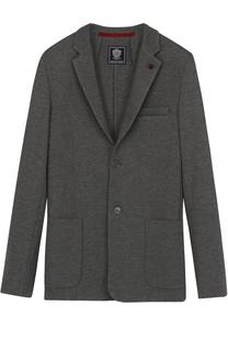 Однобортный пиджак джерси Dal Lago