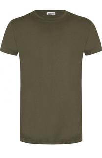 Хлопковая футболка с круглым вырезом Tomas Maier